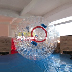 Spedizione gratuita gratuita One Pump Dia 3M Zorbing Ball Equipment Grande acqua Zorbing Ball Water Zorb Ball In vendita