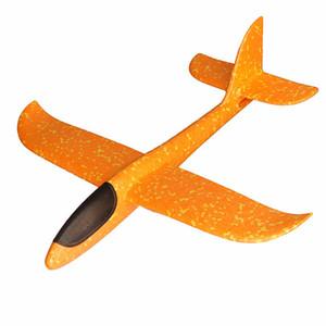 손 던지고 항공기 48cm 위장 거품 기동 글라이더 글라이더 어린이 장난감 도매