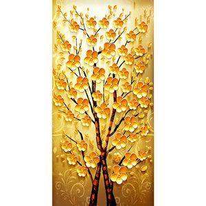 Commercio all'ingrosso di alta qualità resina moda pittura diamante punto croce fiore albero decorazione della casa mosaico ricamo npc151