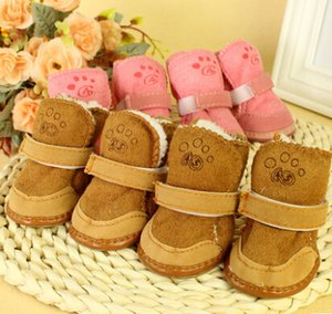 Pet Shoes Boot Puppy Cotton Blend Winter Snow Warm Walking Boots Fancy Dress up Pet Dog Chihuahua Boots Puppy Shoes