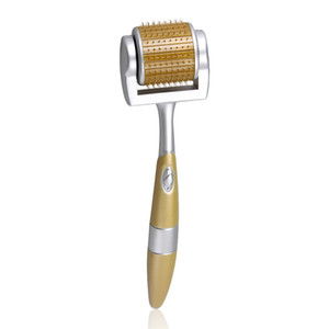 Yeni derma silindir 192 titanium makinesi derma kalem ZGTS elektrikli dermaroller cilt gençleştirme için derma rulo ile altın microneedles