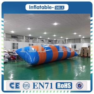 Kostenloser Versand 10x3m 0.9mm PVC-aufblasbare Wasser Blob Jump Aqua Air Blob Jump Aufblasbare Wasser Blob Wasser-Trampolin Jumping Pillow