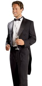 tuxedo for wedding suits formal wear 2020 custom made suit men groomsmen suits black high quality