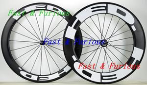 Yol Bisikleti genişliği Ücretsiz Kargo !! HED Karbon Tekerlekler 60mm 88mm Tek gariplik tübüler Yol Bisikleti Karbon Tekerlek 700C 25mm