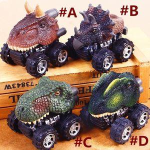 Muqgew يوم الأطفال هدية لعبة ديناصور نموذج مصغرة لعبة سيارة الظهر من سيارة هدية لعب للأطفال بنين دييكاست لعبة المركبات