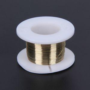 100 m fio de corte lcd 0.10mm linha de fio de corte de molibdênio de ouro divisor lcd linha de corte de vidro para telefones celulares separador de tela