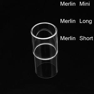 Sıcak Satmak Fit Merlin Mini Merlin Uzun Merlin Kısa Pyrex Cam Tüp Yedek Çan kapağı Temizle