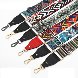 Women Bag Straps Handbag Belt Wide Shoulder Bag Strap Colorful Replacement Accessories Adjustable Strap for Belt KZ151361