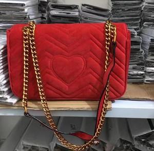 solo bolso de hombro bolsa de mensajero de la manera El nuevo de alta calidad bolsa de la mujer Pleuche oblicuamente Europea y diseñadores americanos.