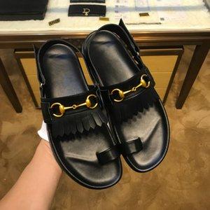 pantofole di tendenza grandi nomi di fascia alta dei sandali di marca di moda scarpe casual fabbrica ferroviaria europea il trasporto di punizione di prima