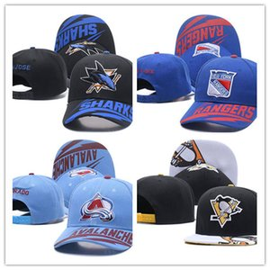 Buena venta Toronto Maple Leafs Hockey sobre hielo Knit Beanies bordado ajustable sombrero bordado Snapback Caps negro azul gris