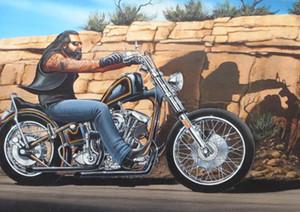 David Mann Hayalet Sürücü Sanat Ev İpek Baskı Poster 20x30 24x36 24x43