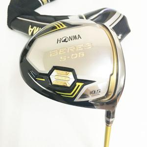 New Golf clubs honma BERES S-06 Golf driver 9.5 10.5 loft Driver clubs Graphite shaft R or S flex Free shipping