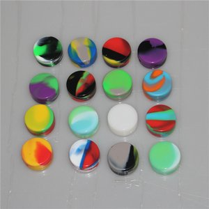 Nonstick Wax Containers silicone box 3ml Silicon container Non-stick food grade wax jars dab storage jar oil holder for vaporizer vape