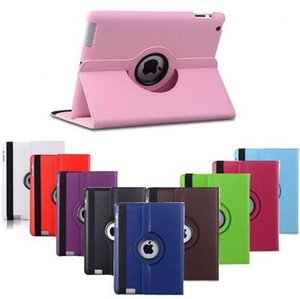 Fashionable Useful 360 Rotating Premium Quality PU Leather Case For Apple iP mini 1 2 3 leather cover Stand case