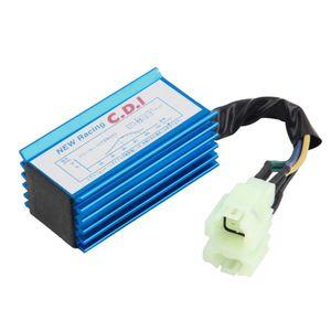 1 Шт. Производительность 6 Pin Racing CDI Box + Катушка зажигания Для GY6 Скутер Мопед 50CC 150CC Мотоцикл Производительность Аксессуары