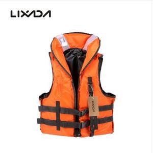Lixada Adult Kayak Schwimmweste für Angeln EPE Schaum Flotation Schwimmen Sicherheit Schwimmweste Mit Whistle Freie Größe