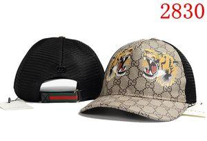 2018 Top-Qualität Marke Hut Cap Tier Stickerei Baumwolle Baseball Cap Knochen Hip Hop Snapback kleine Monster Cap