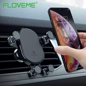 Support de commodité pour téléphone en voiture luxe verrouillage automatique Gravity voiture titulaire Air Vent Mount Support pour Samsung Note 9 8 support de support