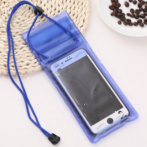 30pcs Waterproof Pouch Support 6.0 Inch Phone For Diving Drifting Strong Protection Water Proof Cell Phone Storage Bag Pouch