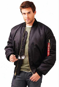 Наружная одежда военная тактическая мужская армия МА-1 полет бомбардировщик куртка Бейсбол Varsity колледж пилот ВВС водонепроницаемый зимнее пальто для мужчин
