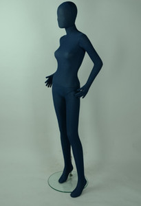 Venta al por mayor de moda azul PU software modelo Adulto ropa femenina realista maniquí modelo de cuerpo completo de costura mujer maniquies mujeres para ropa C359
