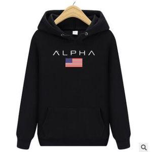2018 neue Trend Herbst Winter Buchstaben Hoodies Herren Sweatshirts Stickerei Männer Frauen Übergroßen Hoody Mit Plus Größe M-XL