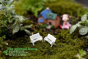 Jardim de fadas Accessorie Mini Cadeira Musgo Gnome Miniatura Em Miniatura Criativa Decoração Do Jardim Falso DIY Emulação Gramado Decoração Em Miniatura