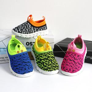 2018 Neue Weiche Kinder Schuhe Jungen Mädchen Schuhe Candy Farbe Gewebe Air Mesh Kinder Casual Turnschuhe Für Jungen Mädchen