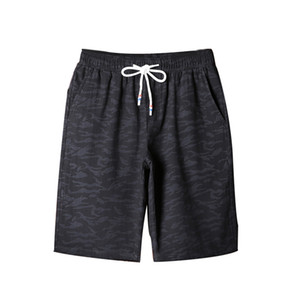 Summer new men's camouflage casual sports shorts summer thin section cotton five pants trend running beach pants