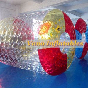 Water Rollers TPU Quality 2.4x2.2x1.7m Water Wheel Inflatable Rolling Ball for Humans with Pump Free Shipping