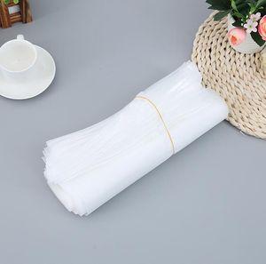 Sac de fermeture éclair en plastique givré transparent vêtement emballage pe sac de fermeture à glissière vêtement sac à fermeture à glissière 25 * 30cm 30 * 40cm 35 * 45cm