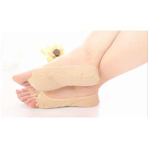 1 Pair Sağlık Masaj Ayak Çorap Halluks Valgus Braces Ayak Ayırıcı Topuk Koruyucu Çorap Ortopedik Düzeltme Çorap Ayak Bakımı