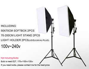 Freeshipping DHL sola lámpara softbox luz de la foto softbox set equipo fotográfico Kit de soporte de luz de foto Studio kit trípode