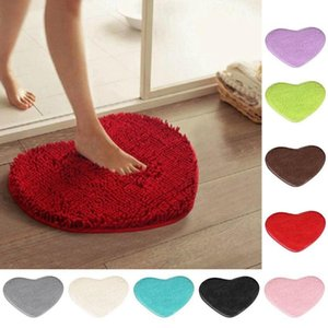 40*50cm Anti-Skid Fluffy Shaggy Area Rug Home Bedroom Bathroom Floor carpets for living room Non-toxic Resistant hot Rug C0307 Blanket