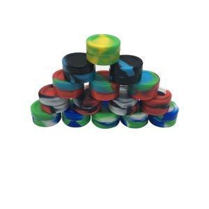 5 мл Dab Wax Shatter Силиконовый антипригарный контейнер Jar для масла Crumble Honey Round Concentrate Container