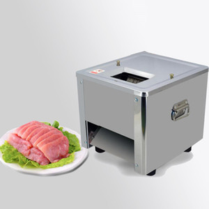 Qihang_top Electric Meat Slicing Machine Commercial Meat Cutting Machine Stainless Steel Electric Manual Meat Slicer For Sale