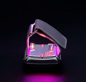 ATANG 2018 새로운 레이저 시계 레드 룰렛 옐로우 3 색 라이트 라이트닝 혈액 순환 유리 지방 쓰레기 저혈당 혈중 지질 설탕
