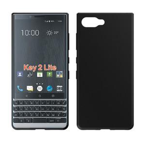 Nouveau 1.3mm Mat Pudding Doux Gel Couverture De La Peau Couverture Antichoc Arrière Pour BlackBerry KEY2 LE