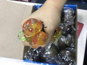 Виноград винограда мяч игрок vent vent мяч трюк tricky decom pression игрушки забавный творческий Водное поло WJ 004