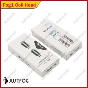 أصلي Justfog Fog 1 Coil Head 0.5ohm 0.8ohm Resistance Anti-Spit Coil Fit fog1 Stertar Kits 100٪ Genuine