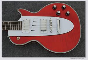 Wholesale - 주문 샵 1960 Corvette orange 메탈릭 일렉트릭 기타 China Guitar