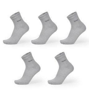 Erkekler Bambu Çorap Nefes Deodorant Rahat Anti-Bakteriyel Rahat Iş Adamı Uzun Çorap 5 çift / grup Ücretsiz Boyutu