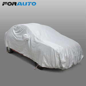 Car Cover Sun Shade Sedan Scratch Resistant Case per l'auto Car styling Covers Hook Up Protezione anti-UV Snow Shield