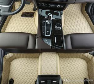 Esteiras do assoalho do carro de alta qualidade para VW Volkswagen Jetta A6 Passat CC B7 Golf B7 6 7 Tiguan Touareg Teramont Touran Atlas de alta qualidade