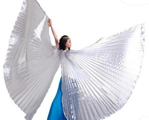 2016 haute qualité ouverture égyptienne Isis Belly Dance Wings Danse Accessoires Wings Vente sans Stick Brand New