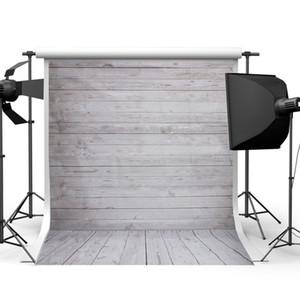 2017 3x5FT 5x7FT Retro Kulissen Holz Wand Boden Vinyl Fotografie Hintergrund Studio Foto Prop fotografischen Hintergrund Tuch