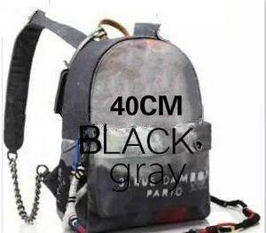 Moda Mochila estilo Graffiti Impreso Lona Mochila bolsa de cuerda bordada con estampado multicolor lienzo mochila escolar