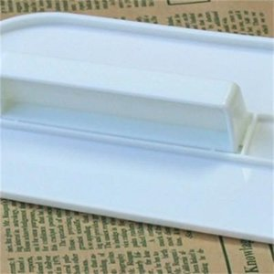 Маленький белый шпатели пластиковый торт гладкой полировщик инструменты фондант сахар ремесло торты украшения выпечки инструмент легко носить с собой 1 2my cc