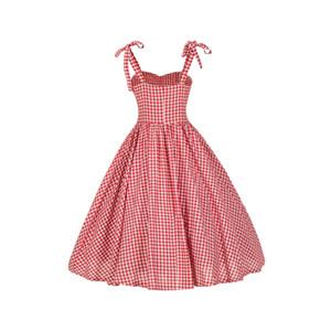 2018 Neue Ankunft Sexy V-ausschnitt Strap Backless Grid Sommer Tunika Frauen Strand Kleid Behomian Stil Party Kleider Elegantes Kleid